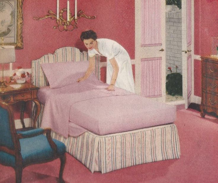 17 Best ideas about 1950s Furniture – 1950s Bedroom