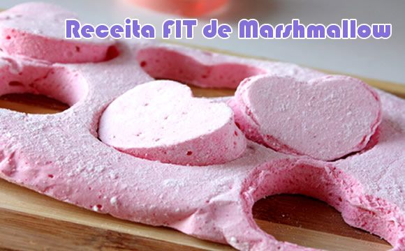 Marshmallow FIT #receitas #fit #receitasfit #light #dieta #fitness