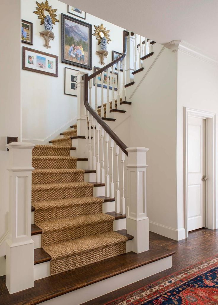 Lighting Basement Washroom Stairs: 17 Best Ideas About Staircase Runner On Pinterest