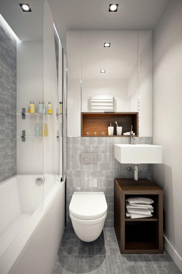 1000 idées sur le thème longue salle de bains Étroite sur ...