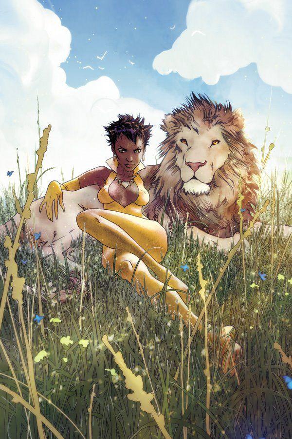 The 25 Most Memorable Black Comic Book Characters - 17. Vixen (DC Entertainment)