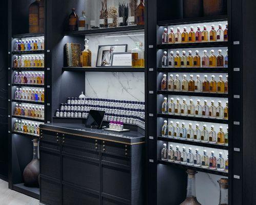 Le nouveau concept store parfums Guerlain à Paris