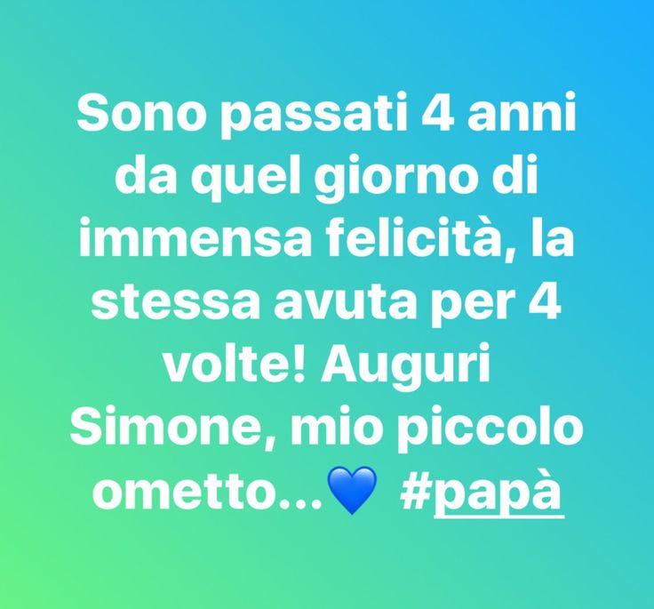 #auguri Simone, mio piccolo ometto…💙 #papà | VincenzoKenzoAndolfi 