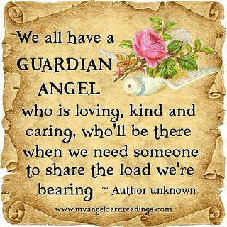 We all have a Guardian Angel...