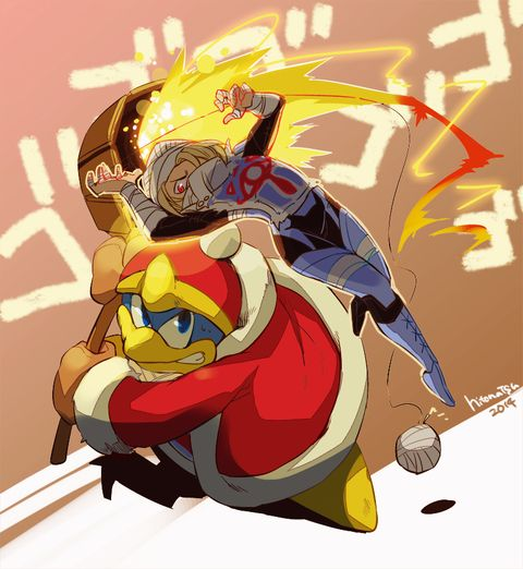 King Dedede & Sheik.
