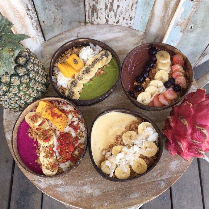 Indonesian food: Nalu smoothie bowls
