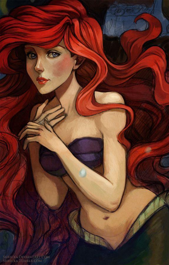 Wip Ariel by *Shricka on deviantART