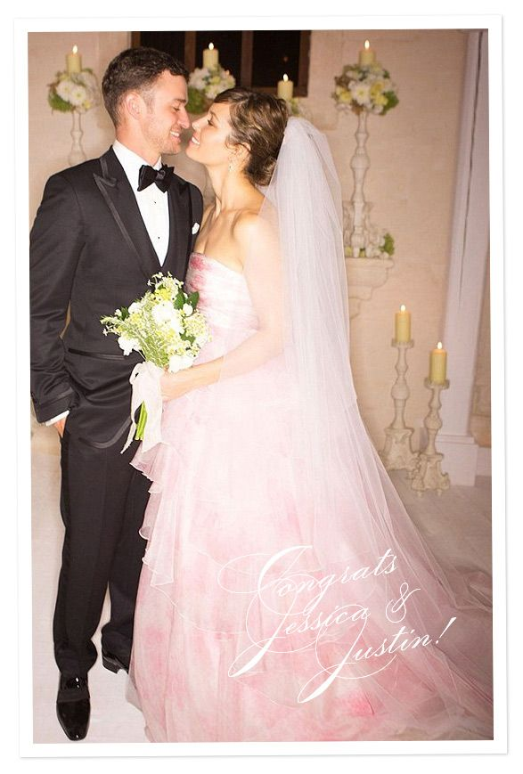 Justin Timberlake and Jessica Biel wedding