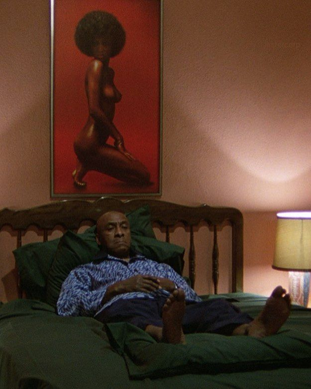 Scatman Crothers as Hallorann in The Shining.