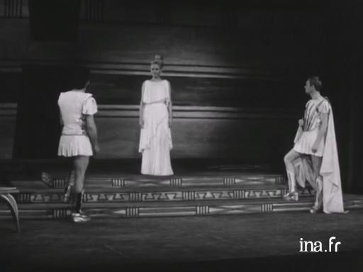 La Guerre de Troie n'aura pas lieu de Jean Giraudoux, mise en scène de Jean Vilar, 1963