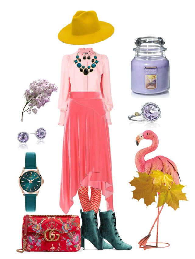 """""""Henri Matisse-styling look 1"""" by alexgasbakk on Polyvore featuring Isabel Marant, Yves Saint Laurent, Palm Beach Jewelry, Peter Pilotto, Henry London, Gucci, Tacori, Yankee Candle and REINHARD PLANK"""