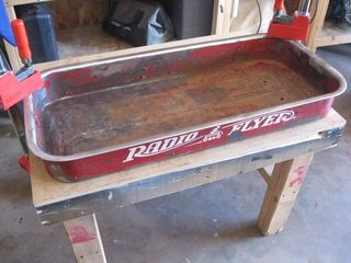 My kids have an old Radio Flyer wagon that was in need of a good makeover. The paint inside the bed was all worn away and replaced by an ever-worsening layer of...