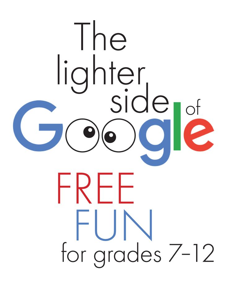 FREE Google-based games and goofiness to add a bit of fun to your secondary classroom. #highschoolEnglish #middleschoolEnglish