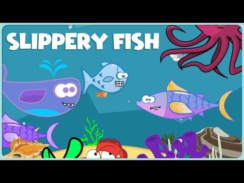Slippery Fish On the Moon Cartoon - YouTube