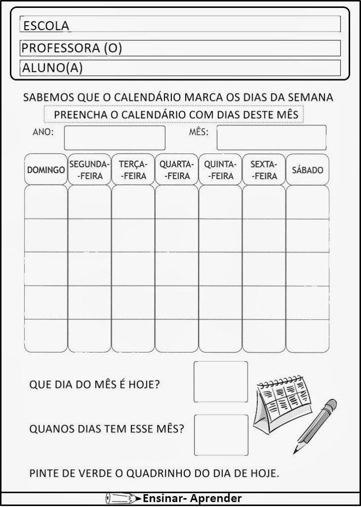 ATIVIDADES DE MATEMÁTICA PARA O 1º ANO – ALFABETIZAÇÃO | Cantinho do Educador Infantil