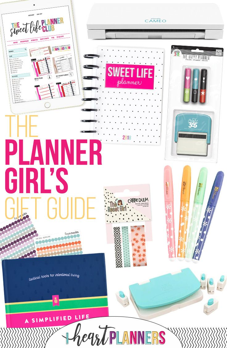 the planner girl s gift guide pinterest girl gifts planners and