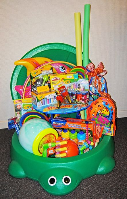 Toy Raffle Prizes : Best ideas about auction baskets on pinterest silent