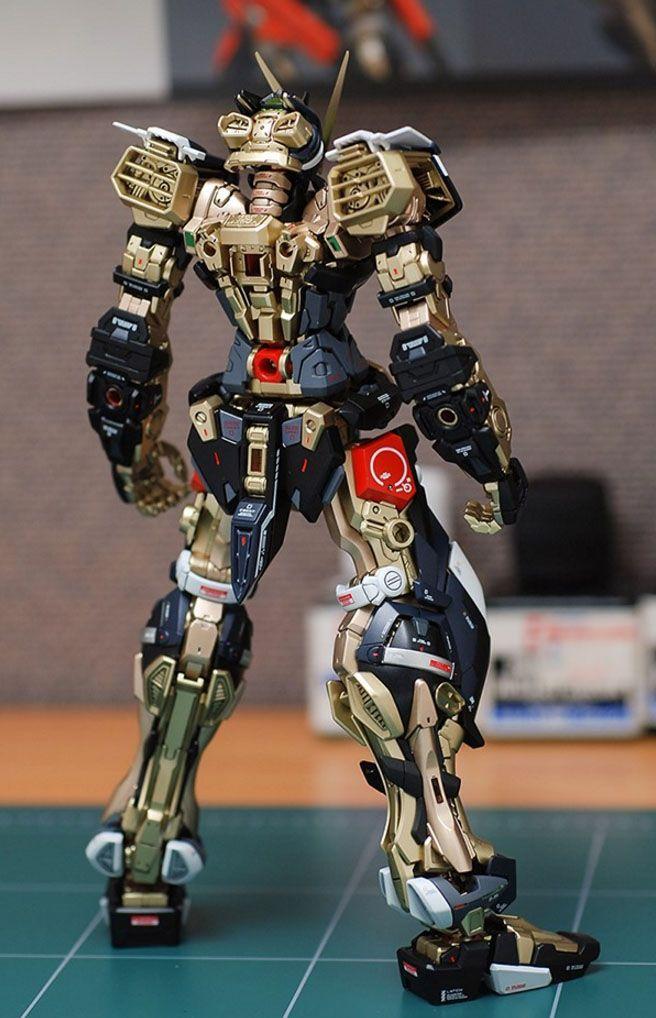 GUNDAM GUY: MG 1/100 Gundam Astray Red Frame - Painted Build
