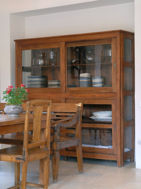 Eclectic Dining Room Glass Buffet Design, Pictures, Remodel, Decor and Ideas - page 2