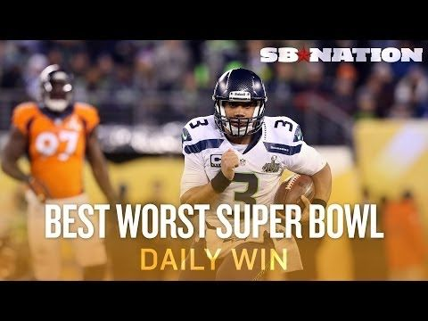 ▶ Seahawks and Broncos play best worst Super Bowl ever (Daily Win) - YouTube