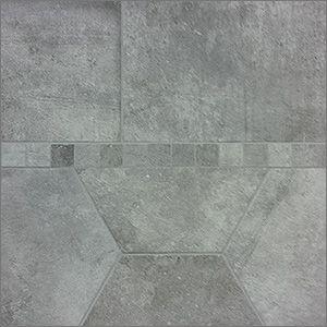Marvel Grigio. 16x24 hexagon, 12x24 and 2x2 mosaic. #happyhouse