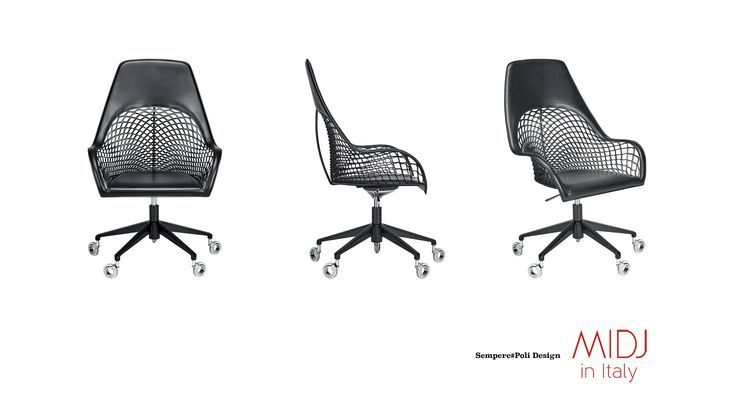 https://flic.kr/p/UDg79s | GUAPA Office, Sempere#Poli Design for MIDJ http://www.midj.com/it/collezioni/guapa | Describe Guapa collection is like describing a beautiful woman. A line of valued chairs for shapes and production, ideal to furnish with taste several lounge areas, restaurants and relax corners inside hotels and resorts, careful to style and innovation. The leather is the natural element which allows to combine comfort with strength, creating a light shadow effect that extends its…