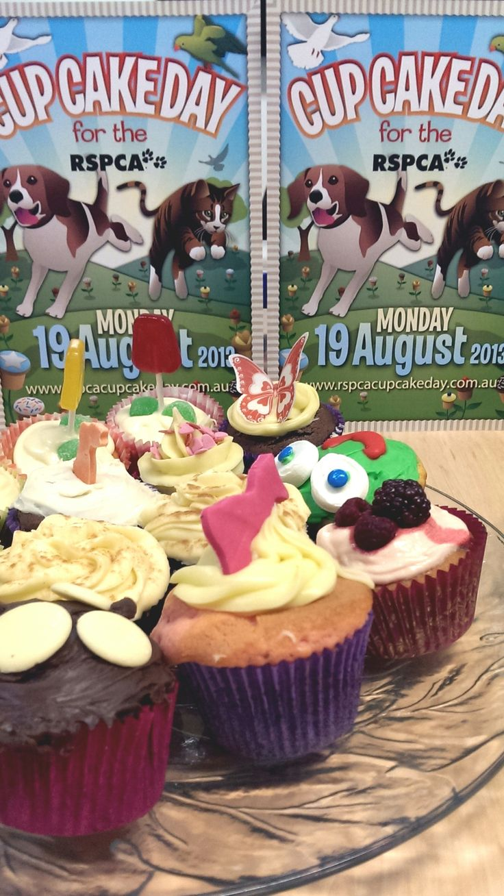 So many delicious choices for RSPCA Cupcake Day: http://www.rspcacupcakeday.com.au/