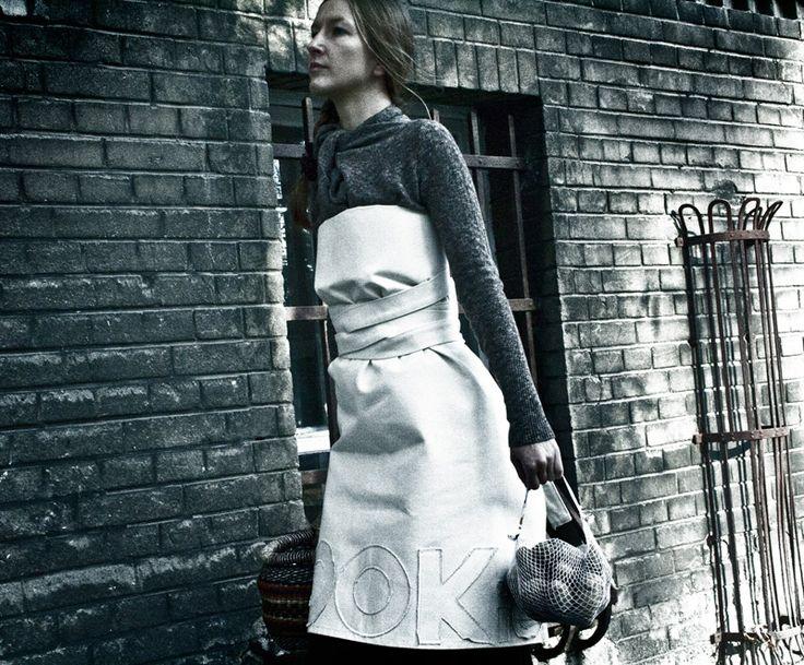 Fartuch Julietta - COOKie - wystrój się do gotowania na FabrykaForm.pl