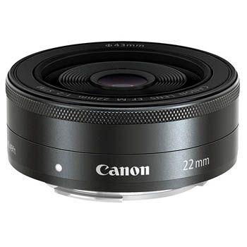 Vidvinkel Canon EF-M 22/2 STM (till EOS M)