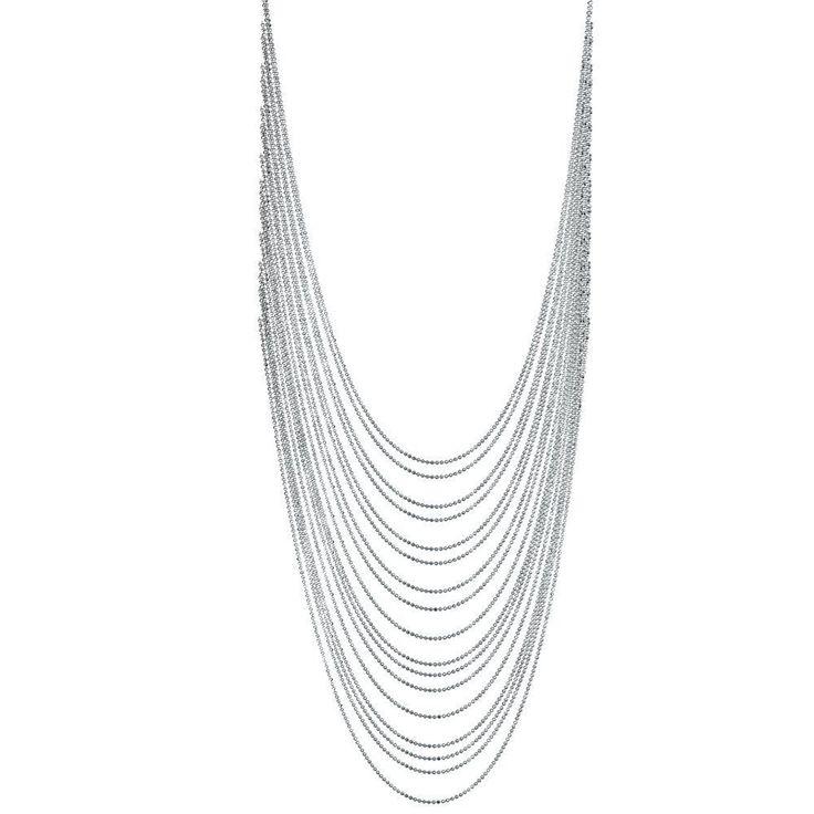 NL508 Multi Strand Necklace