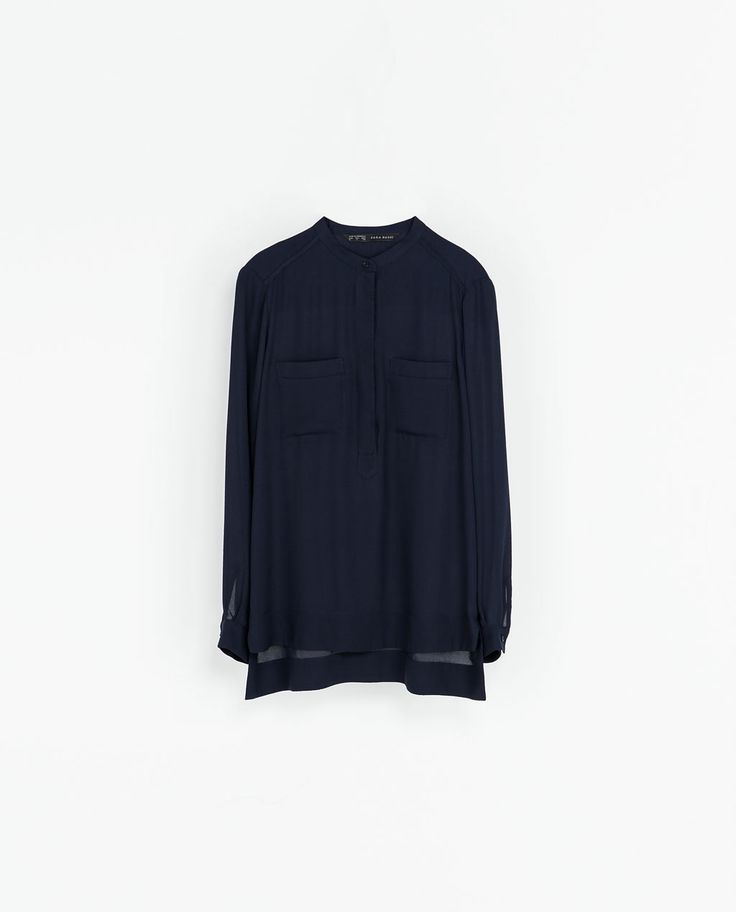 ZARA - WOMAN - LONG SLEEVE BLOUSE