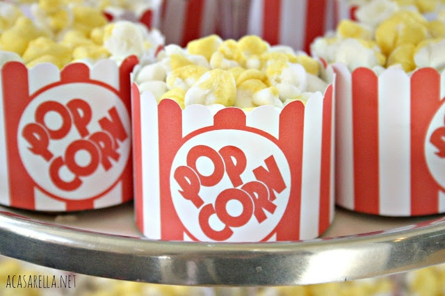 'A Casarella: Popcorn Cupcakes: Food, Red Carpet, Movie Night, Popcorn Cupcakes, Oscar Party, Party Ideas, Birthday Party, Dessert