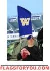 "Washington Huskies Tailgate Flag 42"" x 20"""