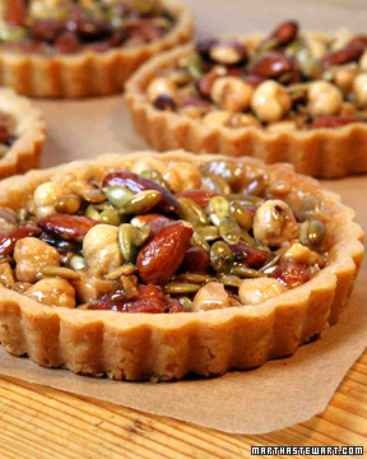 Nut Picnic Tarts Recipe