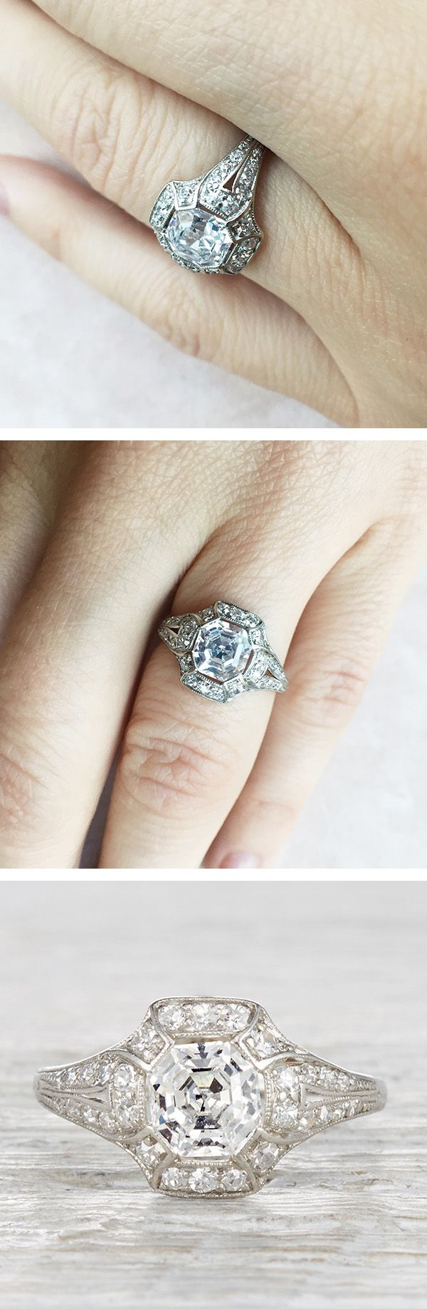 engagement wedding rings wedding ring best images about Engagement Wedding Rings on Pinterest Antiques Diamonds and Deco engagement ring