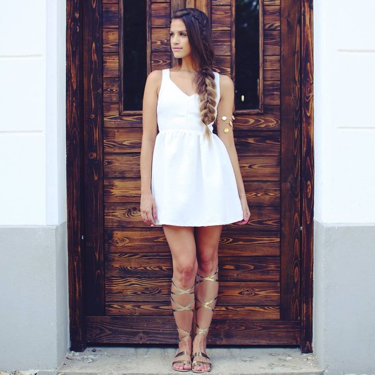 White #summer #dress...ahhh..:) Available at www.famevogue.ro  #fashion #ootd #style