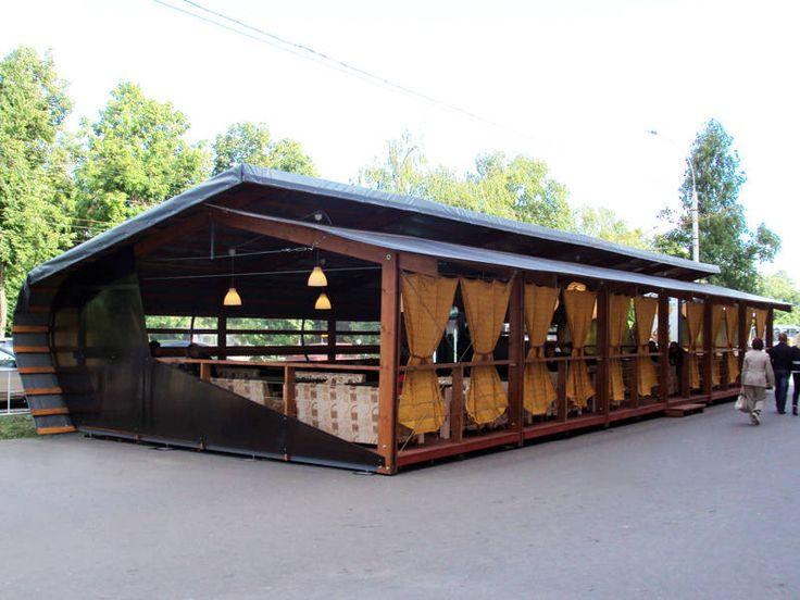 Летняя веранда (кафе) в г.Вологда