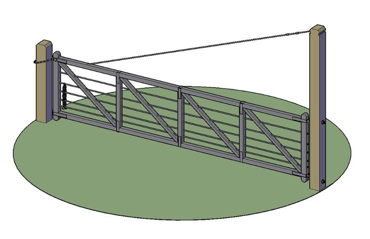 3D AutoCAD Railing Design With Basic Rendered DWG File ...