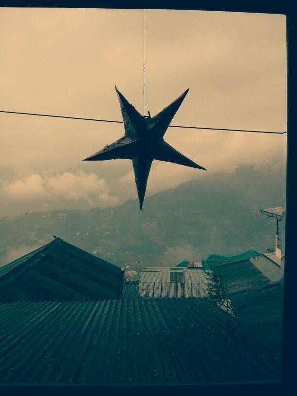 Morning at Baker's Cafe, Gangtok