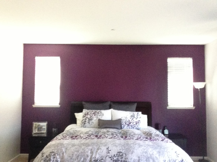 purple bedroom accent wall 17 best ideas about purple accent walls on 16836