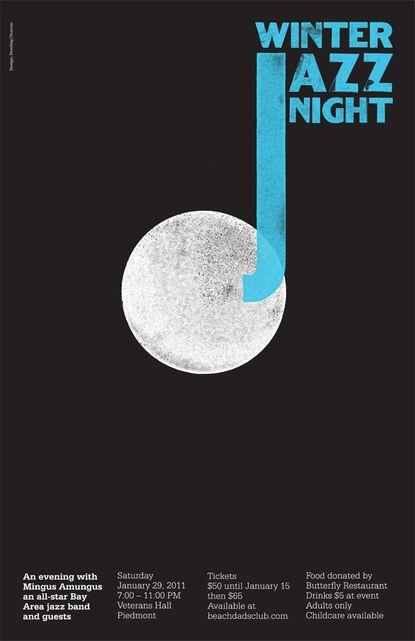 Winter Jazz Night - Poster