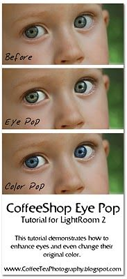 "The CoffeeShop Blog: CoffeeShop LightRoom 2 ""Eye Pop"" Tutorial!"