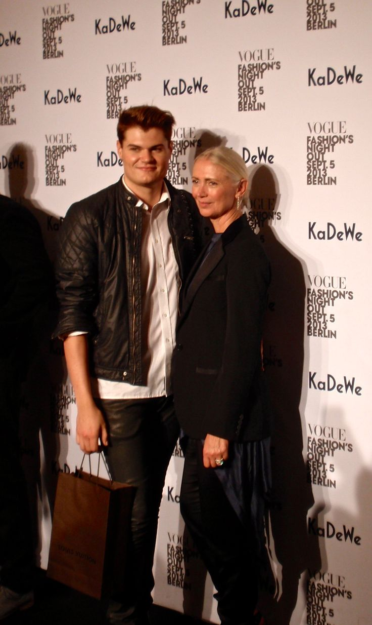 * Christiane Arp (editor in Chief VOGUE Germany)