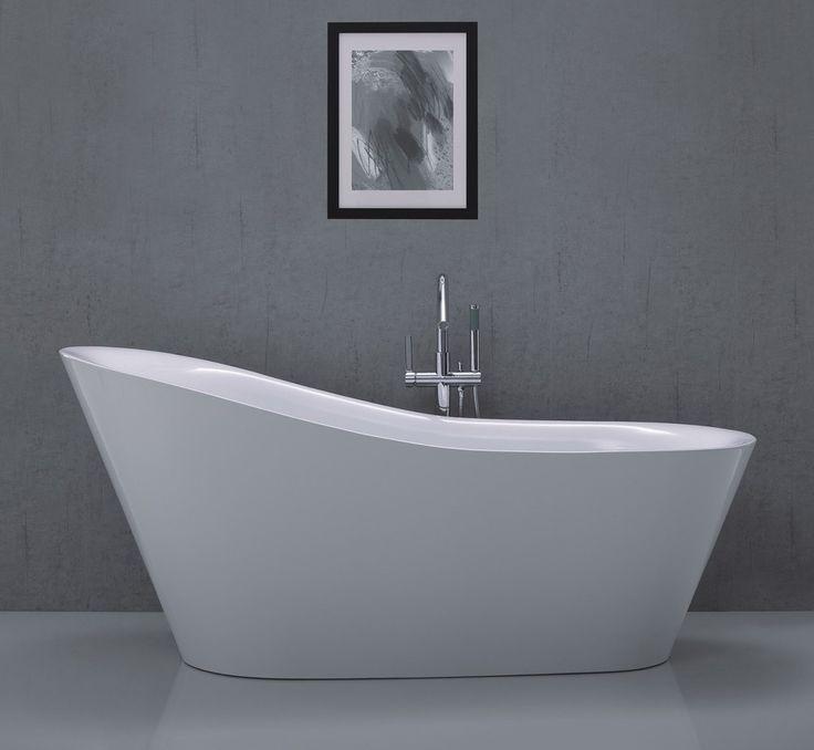 </br>  <p><b>Produktbeskrivelse:</b></p>  <p>Celeste Vittoria er et badekar i moderne design, i 180 cm lengde. Badekaret leveres med skjulte justerbare ben i rustfritt stål og push-up bunnventil. Badekaret i hvit akryl har høy slitestyrke med en blank ove