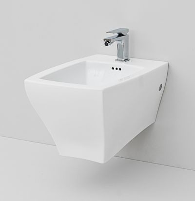 Jazz, design Meneghello #bagno #bathroom #design #decor #white #Artceram wall-hung bidet