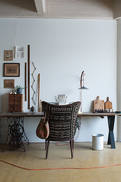 Minimal Bohemian Workspaces | Sycamore Street Press
