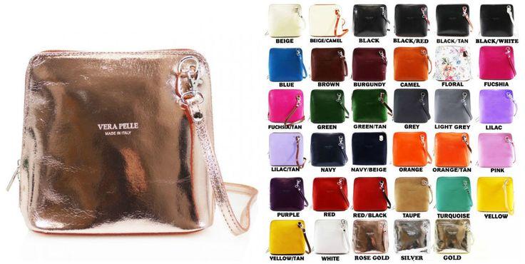New Women Vera Pele Leather Small Square Cross Body Girls Ladies Shoulder Bags #VeraPele #Crossbodyshoulderbag