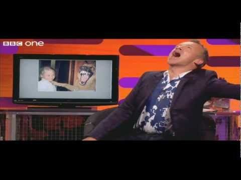 I really want to go to one of these tapings someday.  Graham is an excellent interviewer! Graham Norton Show - Funniest Moments - YouTube