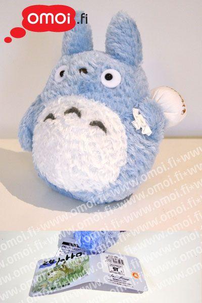 Totoro pehmolelu: Sininen - 30,00EUR : Omoi.fi, anime, manga ja cult oheistuotteiden verkkokauppa