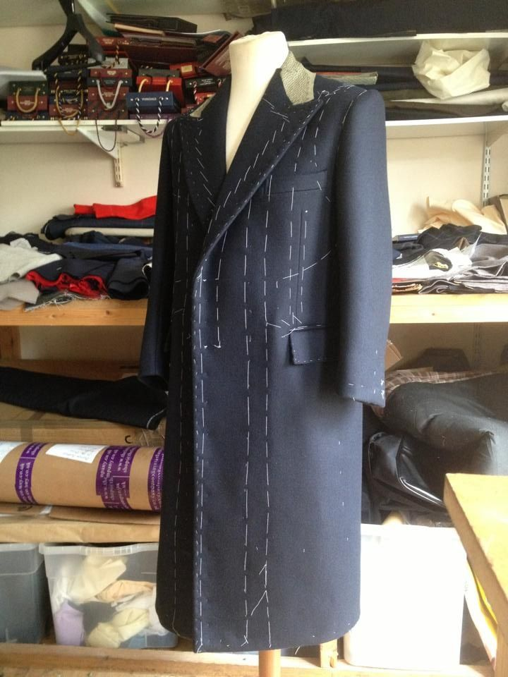 Learn how to make an overcoat!! info@savilerowtraining.co.uk